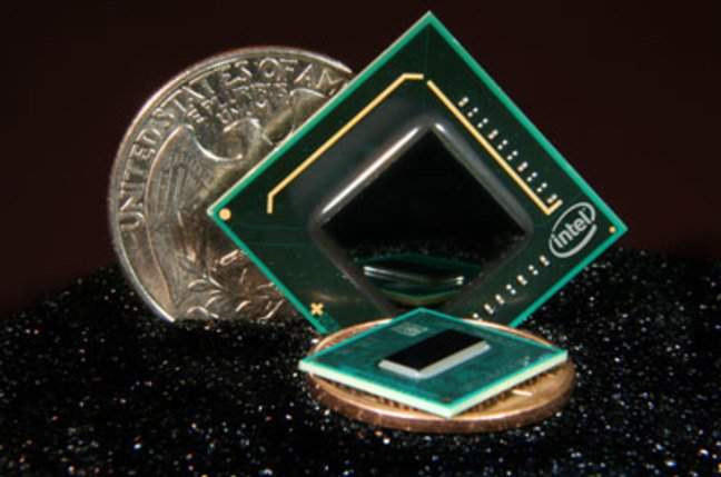 Intel's tiny Atom chip