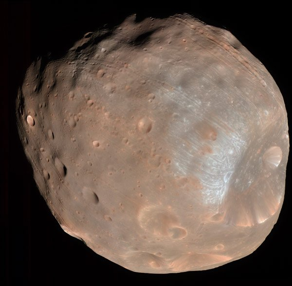 Phobos. Pic: NASA/JPL/University of Arizona