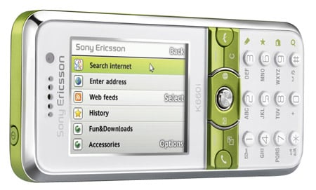 Sony Ericsson K660i mobile phone