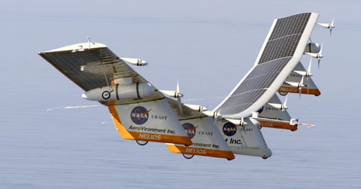 NASA's Helios solar wingship before its 2003 prang