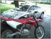 Picture of SoBe's dirt bike