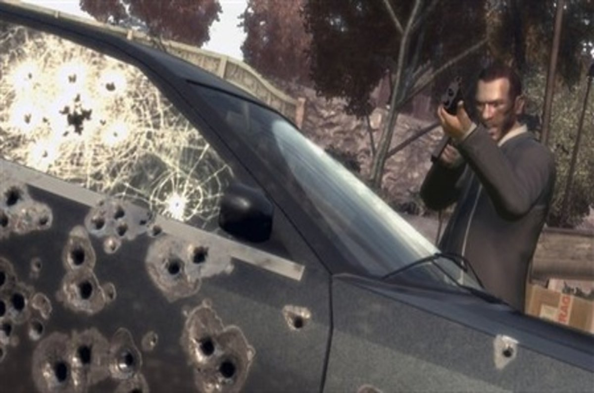 Pics photos grand theft auto iv the law breaking spree continues - Teen Jailed For Armed Robbery Says He And Pals Had Been Inspired By Grand Theft Auto The Register