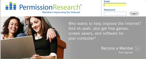 PermissionResearch Web Site