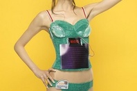 Triumph's solar power brassiere