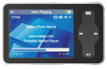 Meizu Mini Player SL 8GB media player