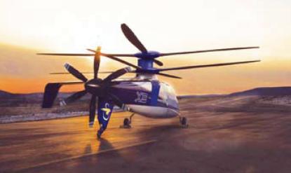 The Sikorsky X2 demonstrator craft
