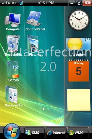 VistaPerfection screen: Spec Works
