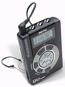 Diamond Rio MP3 Player