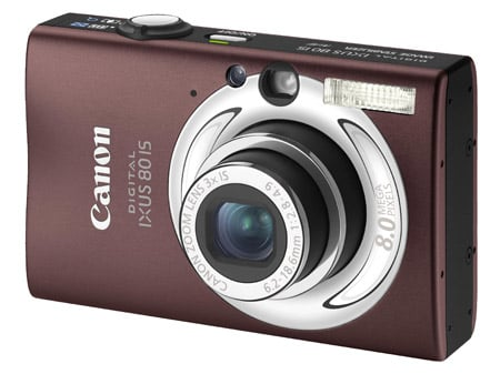 Canon Digital Ixus 80 IS compact camera