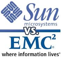 Sun versus EMC