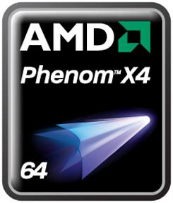 AMD Phenoms - X4 Logo