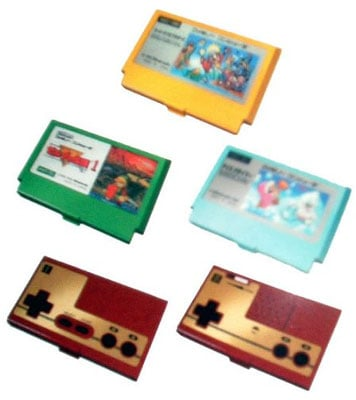Videogame cartridge business card holders the register nintendobusinesscardholder business card reheart Images