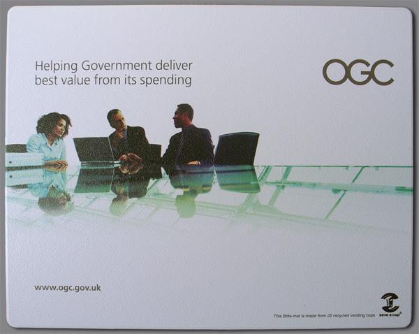 The OGC mousemat