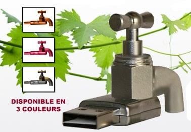 Sacre Bleu! It's the USB Wine Tap