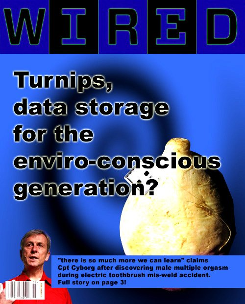 Turnips and Kevin Warwick