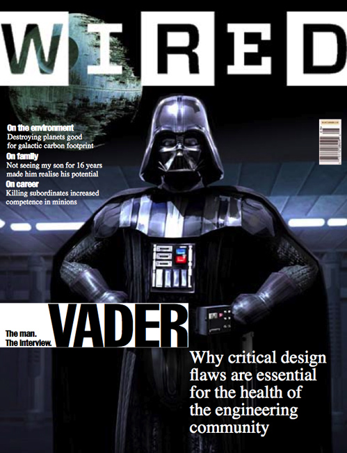 Darth Vader, WiReD icon