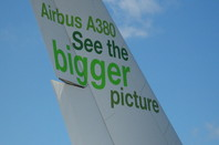 Airbus are overjoyed about having the biggest one around.