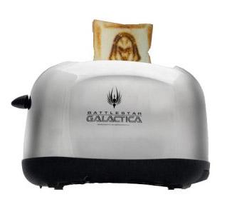 Frakkin' Cylon toaster