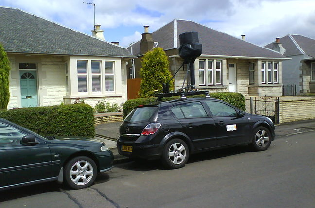 google street view edinburgh