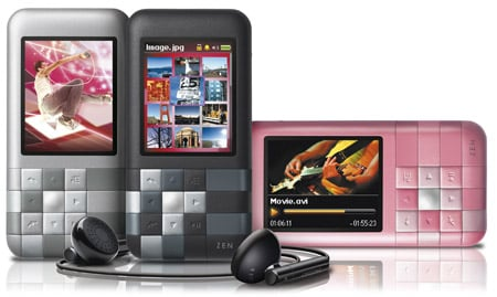 Creative ZEN Mozaic portable media player