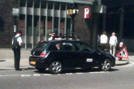 Boston Police Unmarked Car
