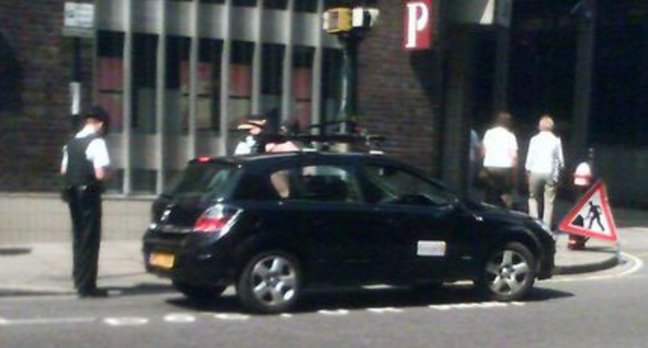 Police dine Street View car for parking in reserved doctor spot