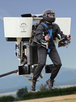 The Martin 'Jetpack' in hover tests
