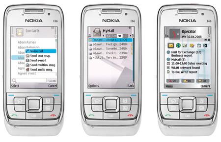 Nokia E66 smartphone