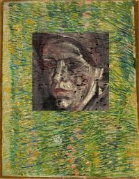 The previously unknown Van Gogh portrait beneath 'Patch of Grass'