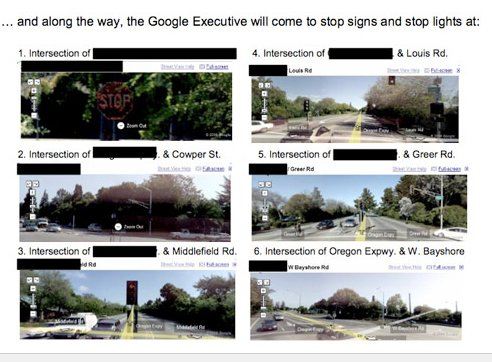 Larry Page Driving Directions