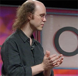 Brian Aker at Oscon: Picture Gavin Clarke