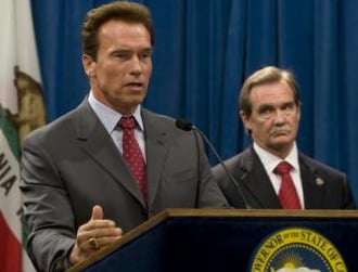 Schwarzenegger on California's budget crisis
