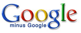 Old Google minus Google logo