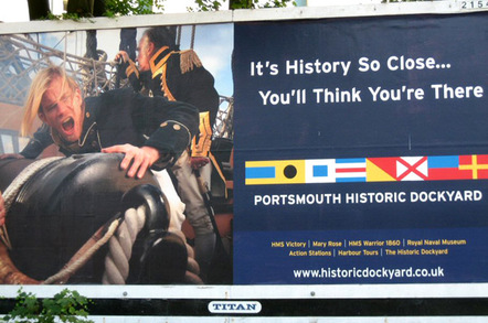 Poster for Portsmouth Historic Dockyard
