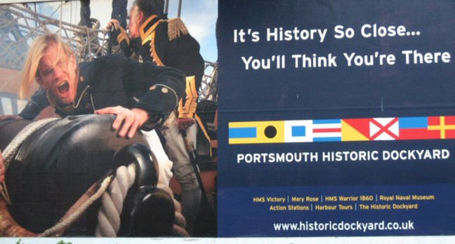 Poster for Portsmouth Historic Dockyard