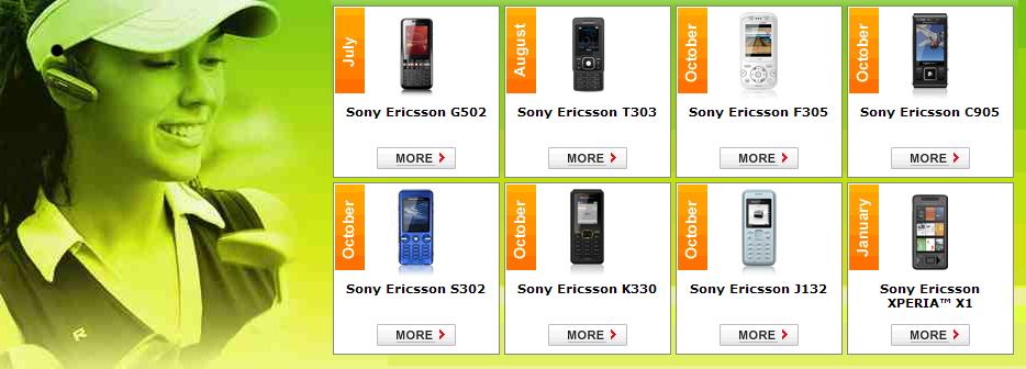 Sony Ericsson delays Windows phone to Jan 09 • The Register