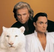 Siegfried and Roy (and friend)