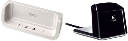 Sonos Controller cradle and Logitech's