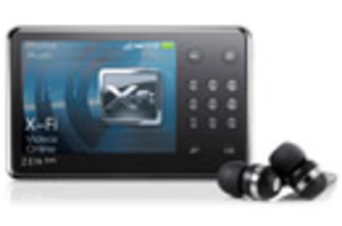 Creative Zen X Fi 16gb Media Player The Register
