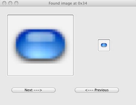 Scrollbar image