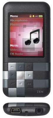 Creative Mozaic 4GB MP3 player