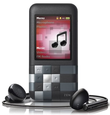 Creative Mozaic 4GB MP3 player