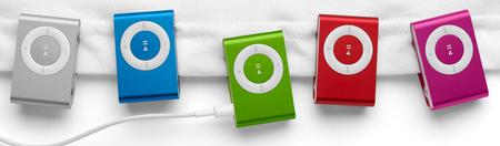 Apple re-coloured Shuffle