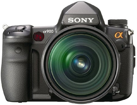 Sony_DSLR_A900_front
