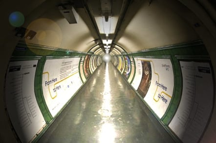 Near-death...or the London Underground - is it one in the same..?