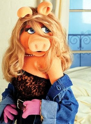 Picture of the Miss Piggy puppet
