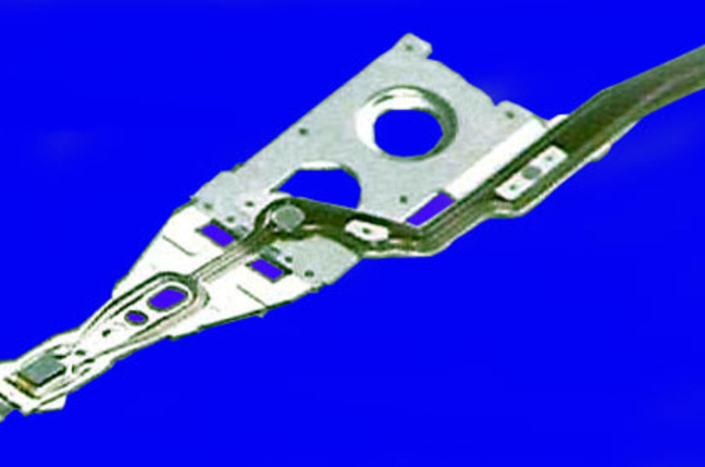 TDK TMR hard disk drive read/write head