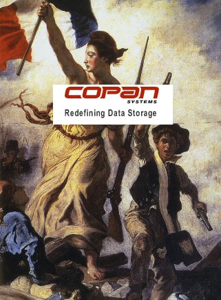 Image of French Revolution with Copan logo superimposed