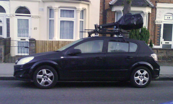 Street View car parked up in South Norwood