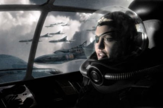Angelina Jolie in Sky Captain and the World of Tomorrwo